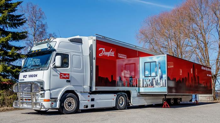 Danfoss Drives Truck Tour 2016